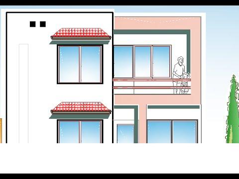 Plano casa terreno 7 x 10 metros 2 rec maras youtube for Casas minimalistas planos