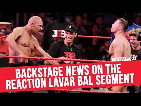 Backstage Reaction To The LaVar Ball Segment On RAW
