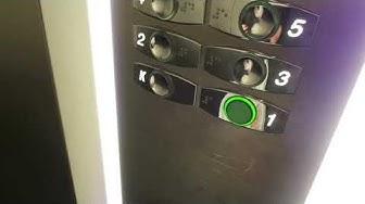 2004 OTIS Traction Elevators @ Kirkkokatu 6, Oulu, Finland