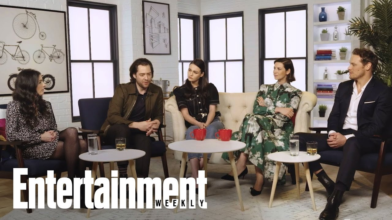 'Outlander' Cast On Roger & Brianna's Struggle To Find Purpose In The Past