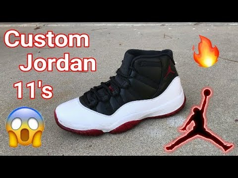 Jordan 11 Custom (Vickalmightys Colorway)