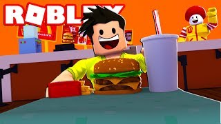 POISONED FOOD AT MCDONALDS IN ROBLOX
