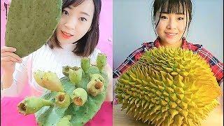 New Eating Show Vegetarian Foods | Fruits/Juice Strange Compilation 2018