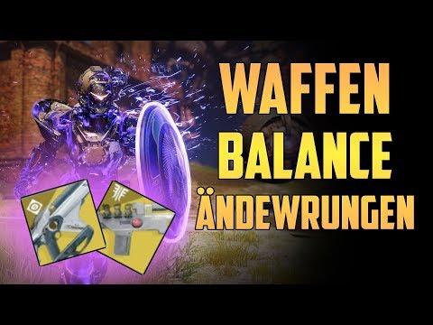 Destiny 2 : Neue Waffen Balance Änderungen | News Update Deutsch German thumbnail