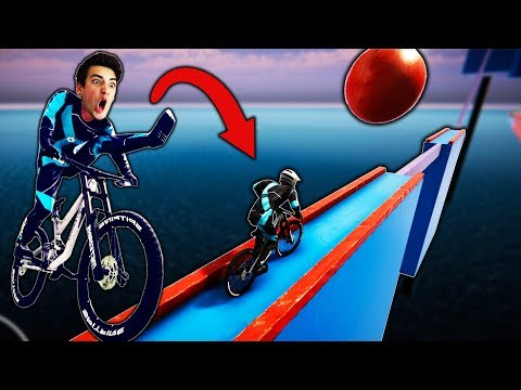 THE SCARIEST BIKE OBSTACLE COURSE EVER! (Descenders)