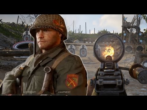 Thumbnail: Call of Duty WW2: Testing All The Weapons in The Firing Range - E3 2017