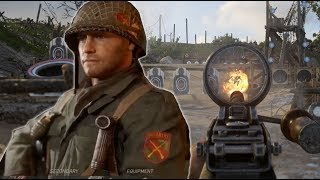 Call of Duty WW2: Testing All The Weapons in The Firing Range - E3 2017