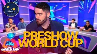 Preshow : Analyse et pronostics avant la World Cup - LESTREAM ESPORT