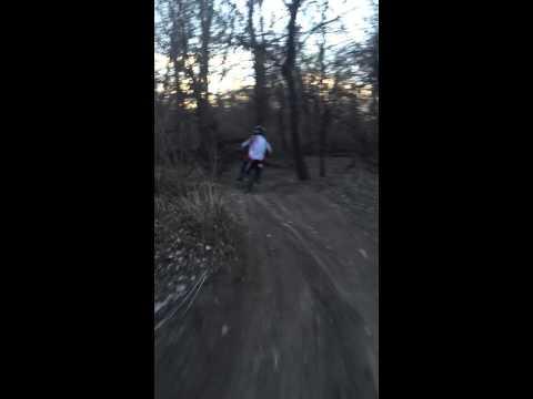 Riding in Topeka Kansas at Oakland, Riverside ATV Trails