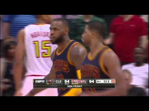 Cleveland Cavaliers vs Atlanta Hawks | Highlights | April 1, 2016 | NBA 2015-16 Season