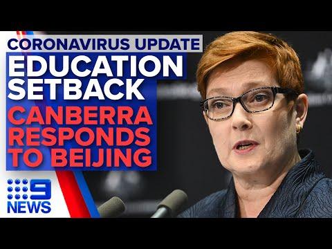 coronavirus:-alarming-school-research,-beijing's-'economic-coercion'-|-nine-news-australia