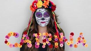 DÍA DE LOS MUERTOS - CATRINA MEXICANA - SUGAR SKULL - Maqui015 ♥