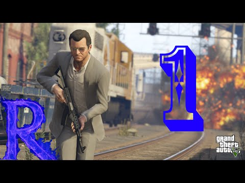 GTA 5 Part 1 - A bank robbery gone wrong