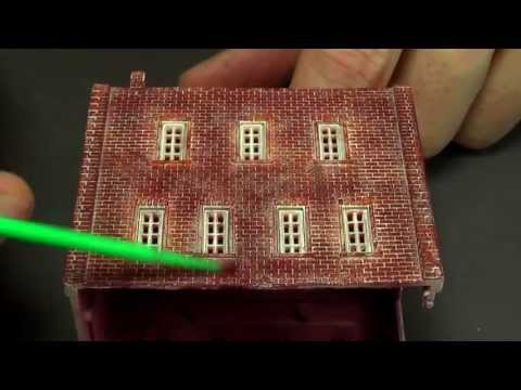 N Scale Detail & Weathering Brick Buildings 8-1-13 Podcast