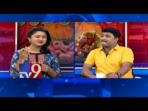 Mimicry artist Siva Reddy entertains TV9 viewers - Ganesh Shobha Yatra Special - TV9