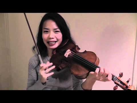 Free Violin Tutorials - Ning Kam - Intonation