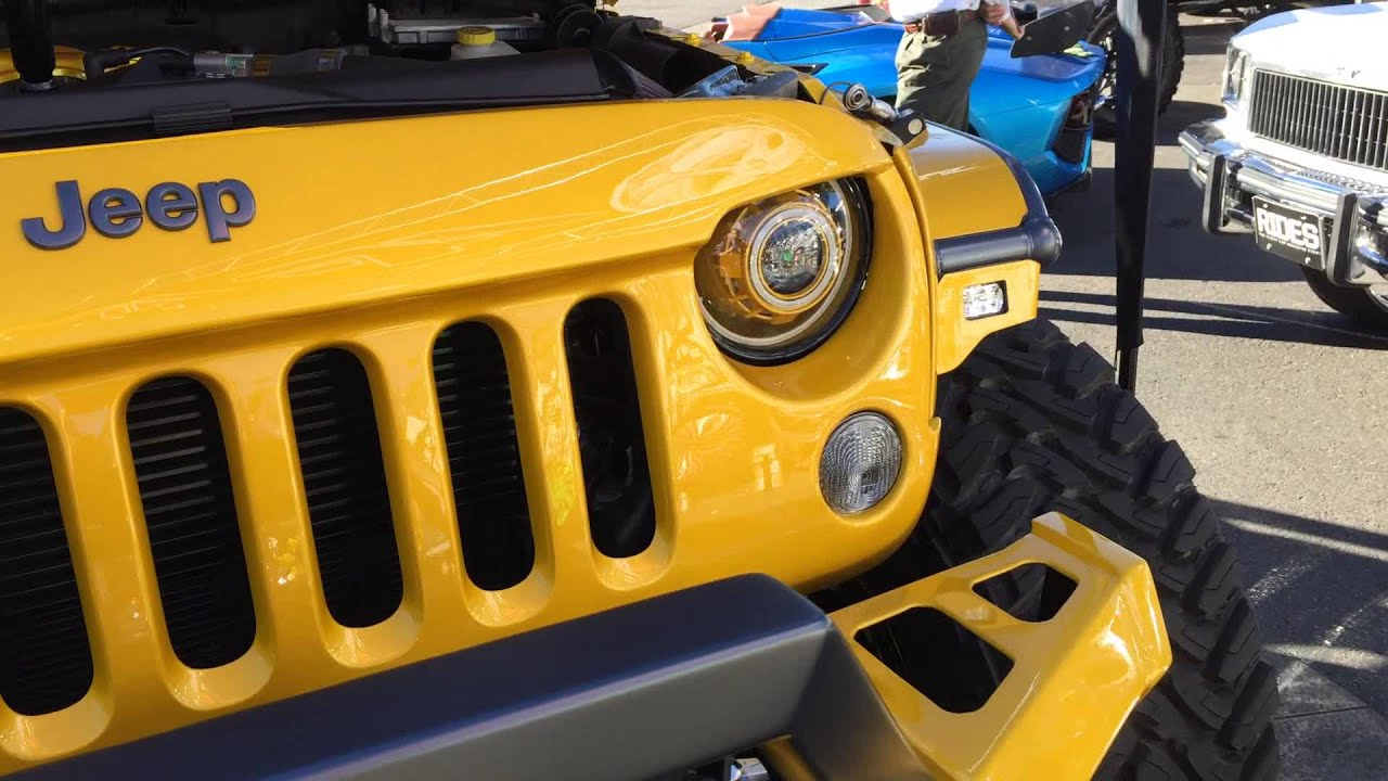Jeep angel eyes headlights-5908