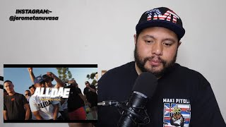 EZRA JAMES feat LAWD LANCE, NOKZ:- ALL DAE (MVP REAL TIME REACTION)