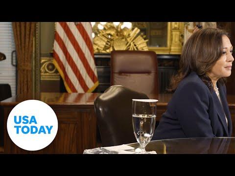 VP Kamala Harris on COVID's impact on Women of Color   USA TODAY