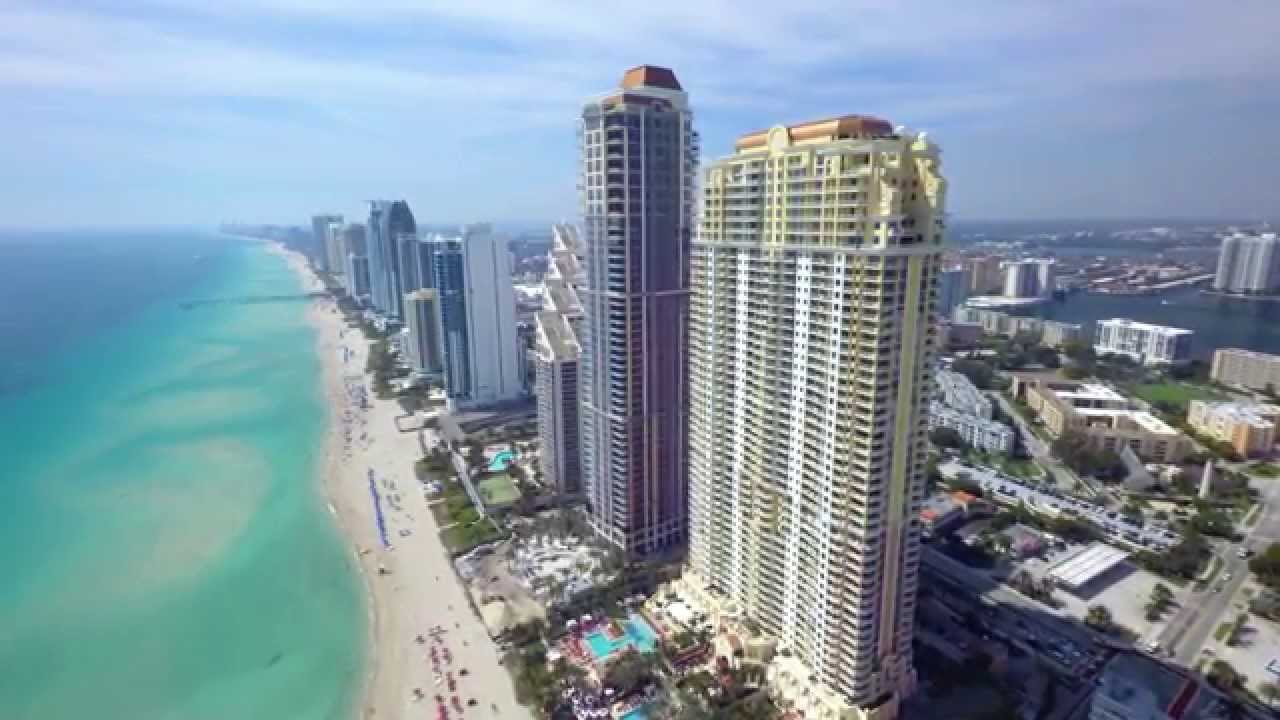florida sunny isles beach 4k drone doovi. Black Bedroom Furniture Sets. Home Design Ideas