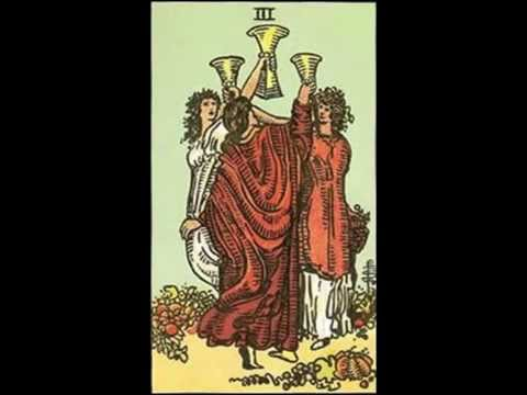 Tarot Tuesday - Three of Cups meaning