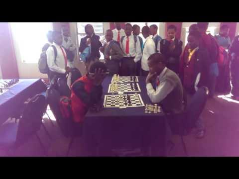 Hyenas Chess Club Junior Player Thato Moremi