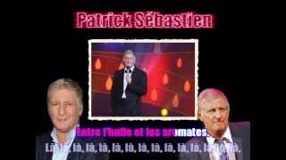 Karaoké Patrick Sébastien - Les sardines