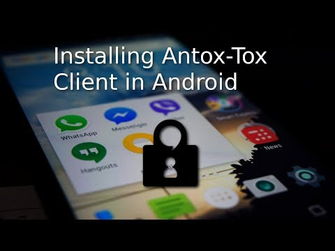 Installing Antox | Android Tox Client | F Droid Store