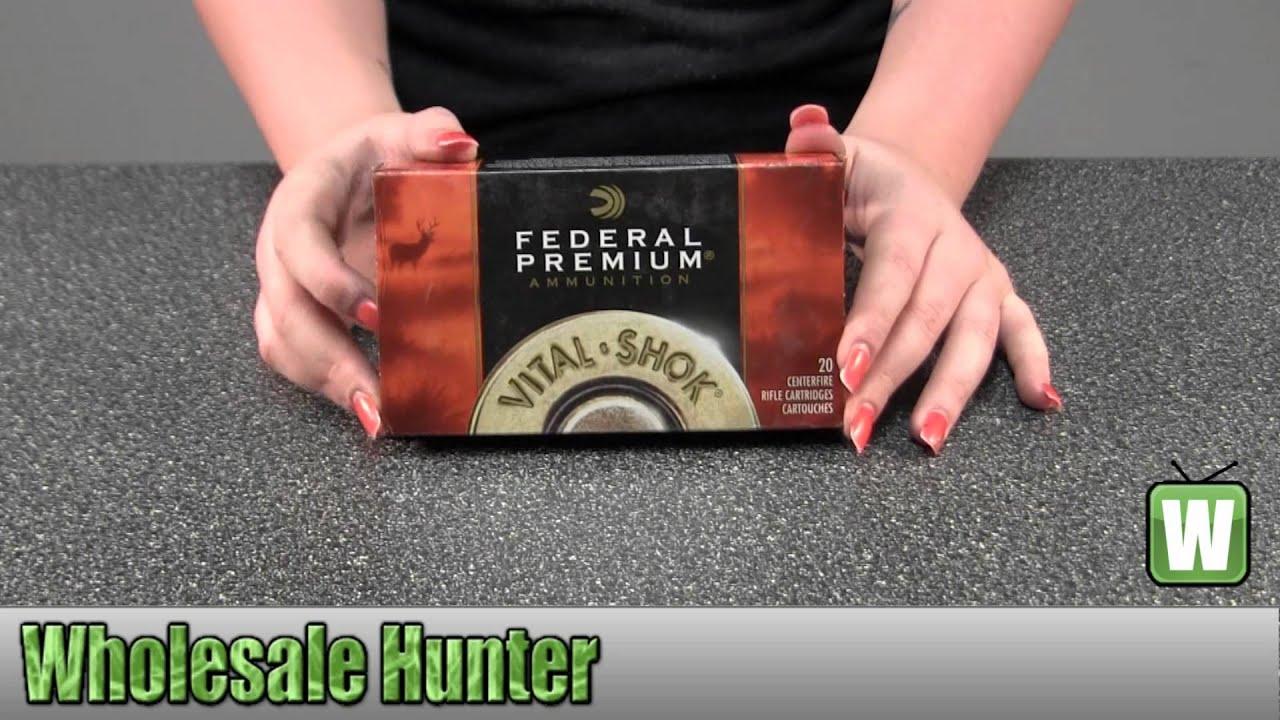 Federal Cartridge 30-06 Springfield 165Gr Sierra GameKing P3006D Ammunition  Shooting Unboxing