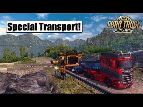 Special Transport DLC l Euro Truck Simulator 2 {G29}