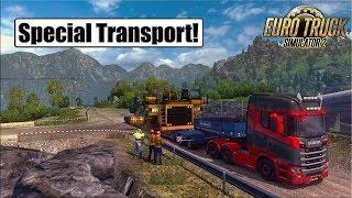 Special Transport DLC l Euro Truck Simulator 2 {G29} #1
