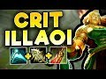 WTF! NEW CRIT ILLAOI BUG?! THE REAL ONE SHOT BUILD! CRIT ILLAOI TOP SEASON 7 - League of Legends