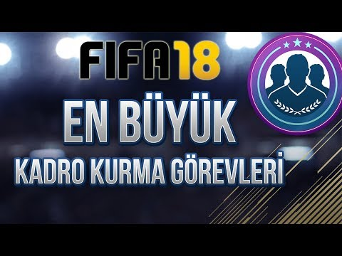 FIFA 18'İN EN BÜYÜK KADRO KURMA GÖREVLERİ VE ÖDÜLLERİ !