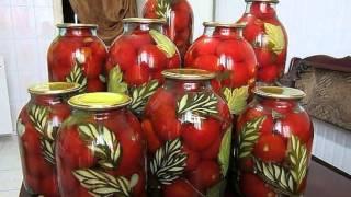 ЗАПАСЫ НА ЗИМУ консервация овощей на зиму - оригинальный подход