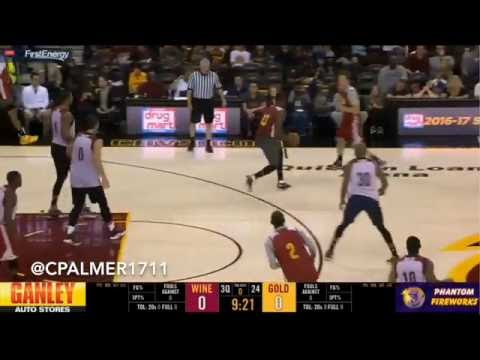 Mike Dunleavy Cavs Scrimmage highlights 5 threes