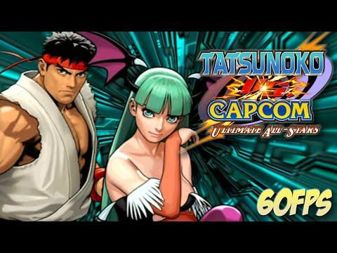 Tatsunoko vs Capcom Ultimate All-Stars - Ryu and Morrigan Longplay (Wii)