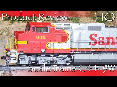 Product Review HO ScaleTrains C44 9W Locomotive