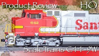 Product Review HO ScaleTrains C44 9W Locomotive