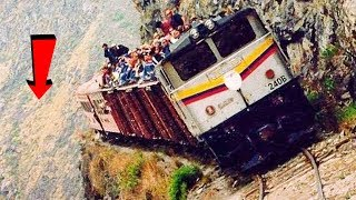LOOK AT IT GO! WORLD'S MOST TERRIBLE AND DANGEROUS RAILROADS
