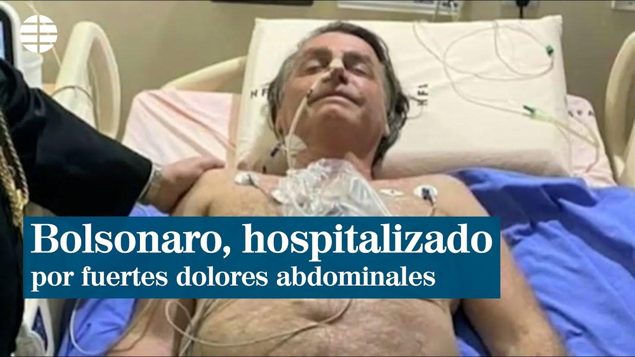 Download Jair Bolsonaro, hospitalizado por fuertes dolores abdominales