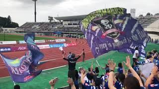 2018 第35節 モンテディオ山形vs松本山雅FC 終了後選手挨拶.