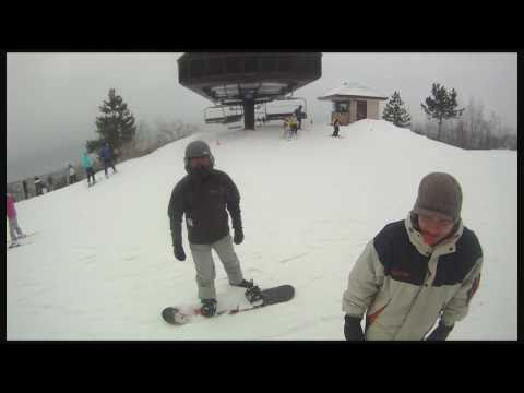 GoPro Hero Helmet Snowboard Test @ Blue Mountain - Collingwood ON Canada