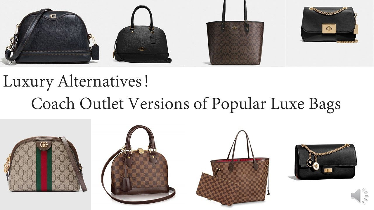 Coach Outlet Version Of Por Luxury Bags