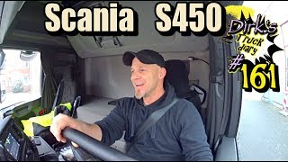 Scania S450 /Truck diary / ExpoTrans Doku #161