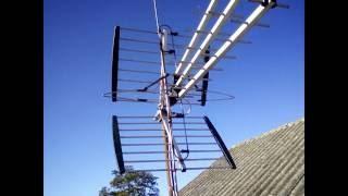 antena dvb t opticum ax1000 przerobiona na combo vhf uhf mux8 radio dab