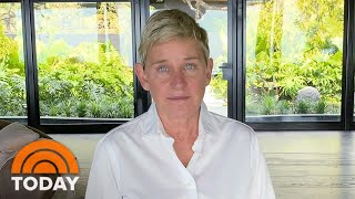 Ellen DeGeneres Speaks Out About Workplace Allegations In Letter To Staff | TODAY