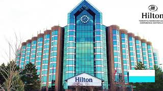 Hilton Toronto/Markham Suites Hotel and Room Tour