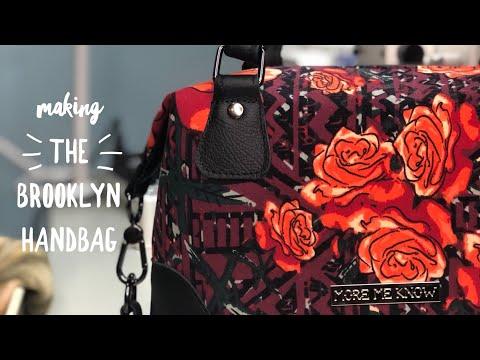 Making the Brooklyn Handbag