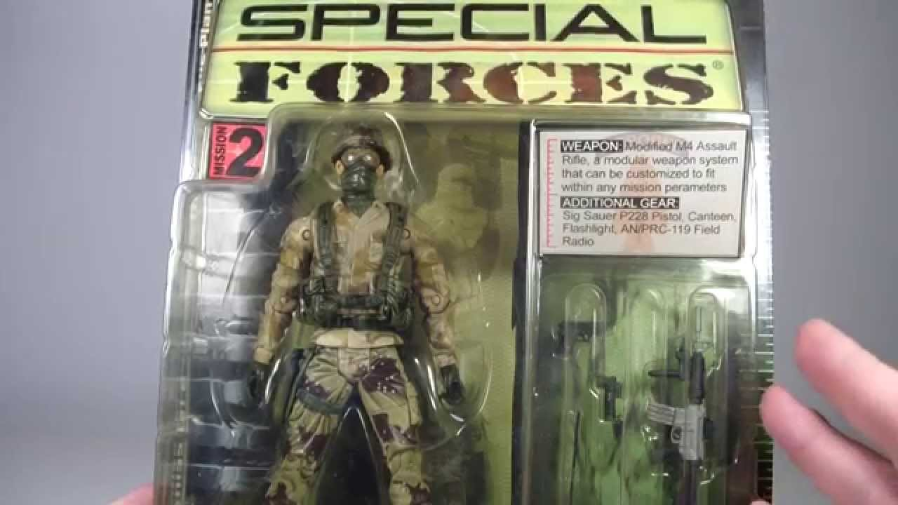 Plan B Toys Special Forces- Delta Force Soldier Review