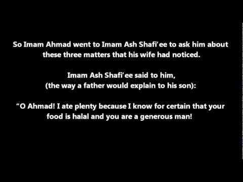 Reflect on - Imam Ash Shafi